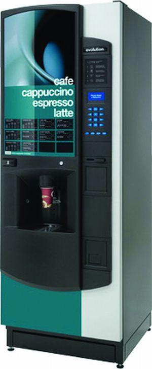 Automatul de cafea CRANE EVOLUTION