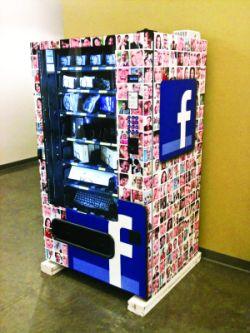 Facebook folosește gadgeturi de forma aparatelor de vending pentru a economisi bani