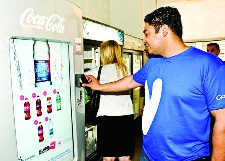 Coca-Cola Co. testează Google Wallet pe 200 de automate de vending
