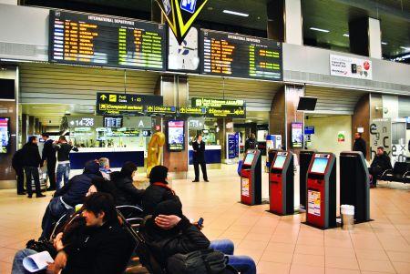 """Beneficiile """"Self Service Check In""""  pe Aeroportul Henri Coandă"""