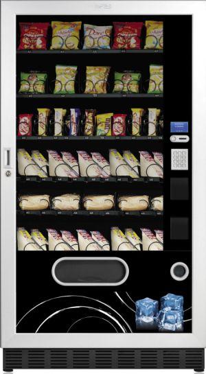 FAS Faster 1050 Visual  – Automatul vending ecologic. Consumă de 3 ori mai puțină energie decât alte aparate din clasa sa!
