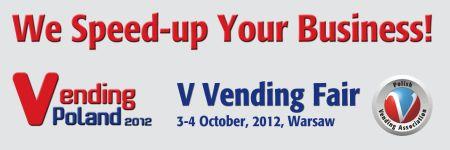 Vending Poland 2012 – pentru o piață de nișă mare…