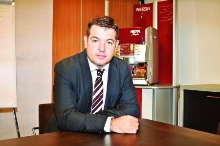 """Ovidiu Tunaru, Country Business Manager Néstle Professional: """"Piața de vending din România se află în plin proces de maturizare"""""""