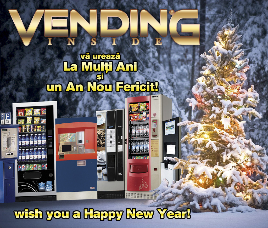 Vending Inside va ureaza La Multi Ani si Un An Nou Fericit!Vending Inside wish you a Happy New Year!