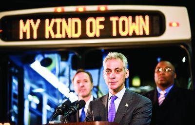 Primarul orașului Chicago, Rahm Emanuel, vrea meniuri de vending mai sănătoase în clădirile orașului