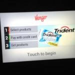 O echipa de antreprenori a creat aparatul de vending Vengo, montat pe un perete, cu ecran digital, aparatul distribuie produse precum apa de gură și guma de mestecat și acceptă...