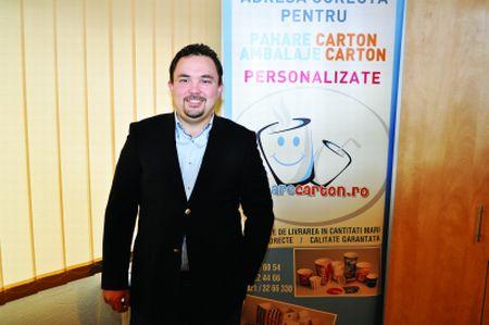 """Elvis Hirsali, Director General Emedez Trading:  """"În vending, primul contact cu băutura plătită este paharul în sine"""""""