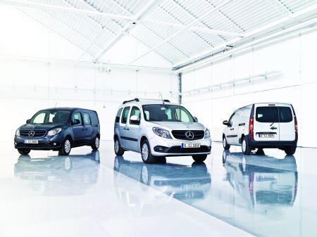 Mercedes-Benz Citan: eroul transportului profesional urban