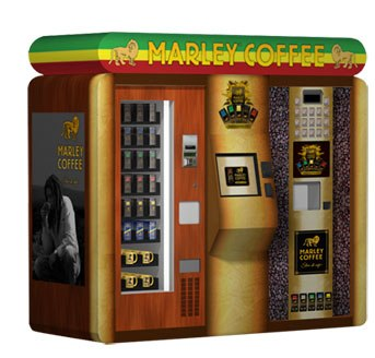 AVT Inc. începe să livreze kiosk-uri Marley Coffee 'Mall' AVT Inc. Begins Shipping Marley Coffee 'Mall' Kiosks