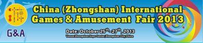 G&A2013 – Expoziție pentru industria de Jocuri și AmuzamentG&A2013-Expo for Game & Amusement Park Industry