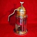 Istoria presei de cafea franceze Presa franceză, cunoscută și sub denumirile de cană de presă, presă de cafea, piston de cafea, sau cafetieră, este un dispozitiv simplu de preparare a...