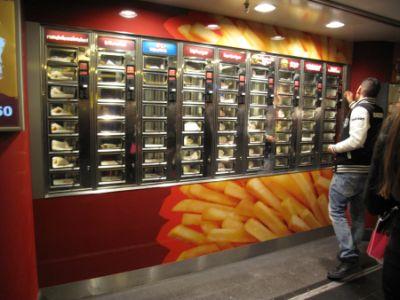 Fast food vs. vendingul alimentar