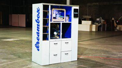 Povestea lui Dreambox – Aparatul de vending de imprimare 3D ce va revoluționa lumea