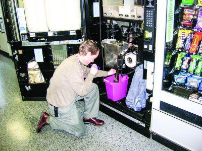Greșeli în operarea aparatelor de vending