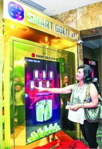În Singapore a fost instalat primul ATM distribuitor de aur din Asia