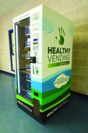 Un liceu din Texas răspunde în mod favorabil la Vendingul Sănătos