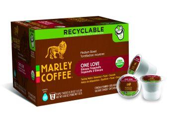 Marley Coffee expediază primele pahare reciclabile EcoCups