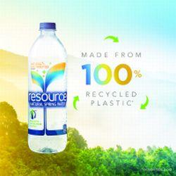 Apa de Izvor 'Resource' de la Nestlé debutează în ambalaj de plastic reciclat 100%