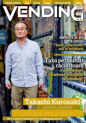 Editorial – Din Japonia în America și din Kazahstan în România. Vending.