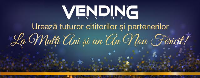 Echipa Vending Inside va ureaza Sarbatori Fericite si un An Nou plin de realizari! La Multi Ani!