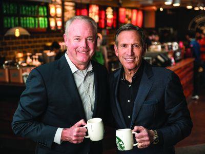 Starbucks anunță o nouă structură de conducere ce va acționa următorul val de creștere globală, Kevin Johnson devine CEO