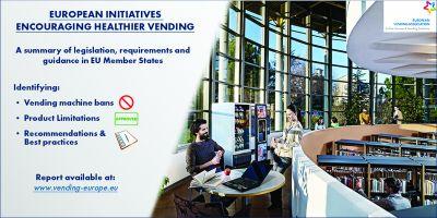 """Ce inițiative promovează activități de vending mai """"sănătoase"""" pe piața dumneavoastră?"""
