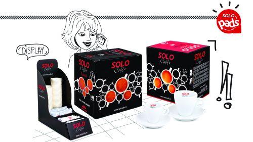 Solo Pads de la SOLO CAFFE, un espresso perfect pentru acasă și birou la monodoze