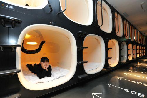 IDEI DE VENDING 32  Hotelurile capsulare sau Hotelurile somnului