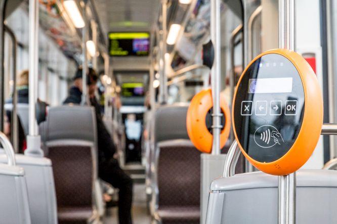 Puterea lui NFC (3)  NFC transformă experiența transportului