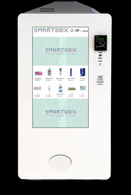 Smartbox aduce marketingul în vending prin experiență tactilă