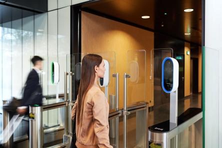 Tehnologia de recunoaștere a irisului încorporată în aparatele de vending