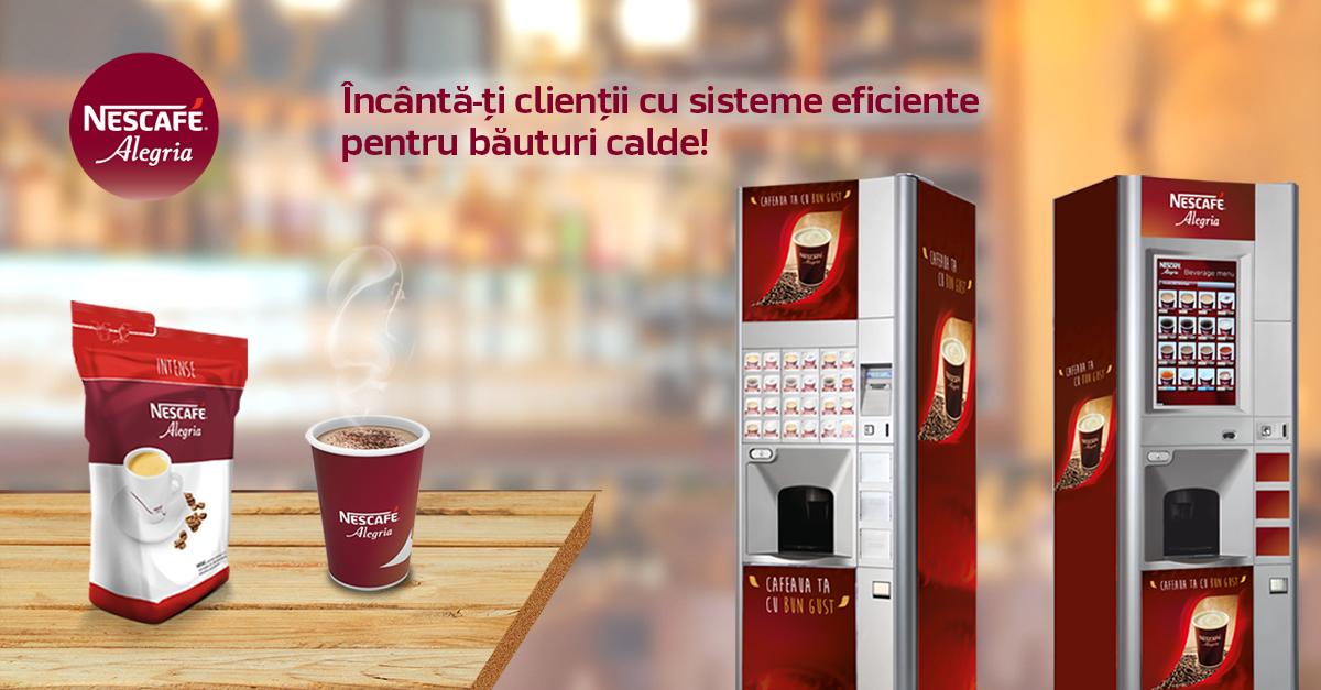Nestlé Professional România:  Partenerul tău pentru soluţii de băuturi pe bază de cafea