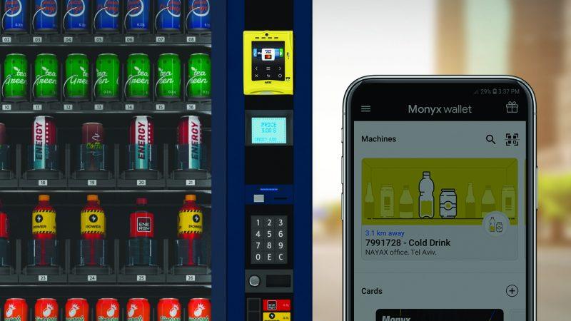 Aplicația Monyx Wallet de la Nayax include și noua serie de indicii de branding senzorial de la Visa