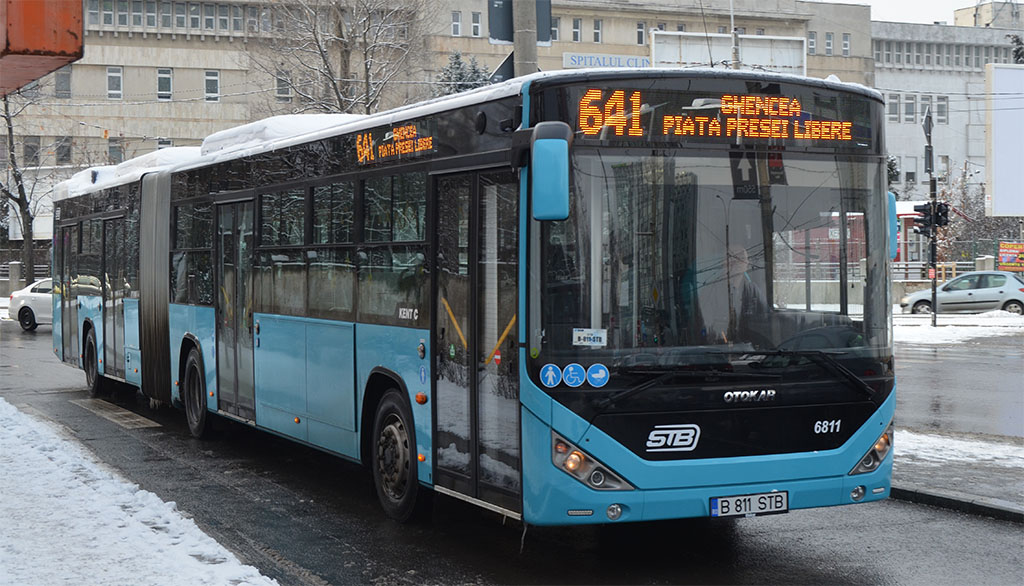Se pot platii cu cardul calatoriile, direct in mijloacele de transport in comun ale STB