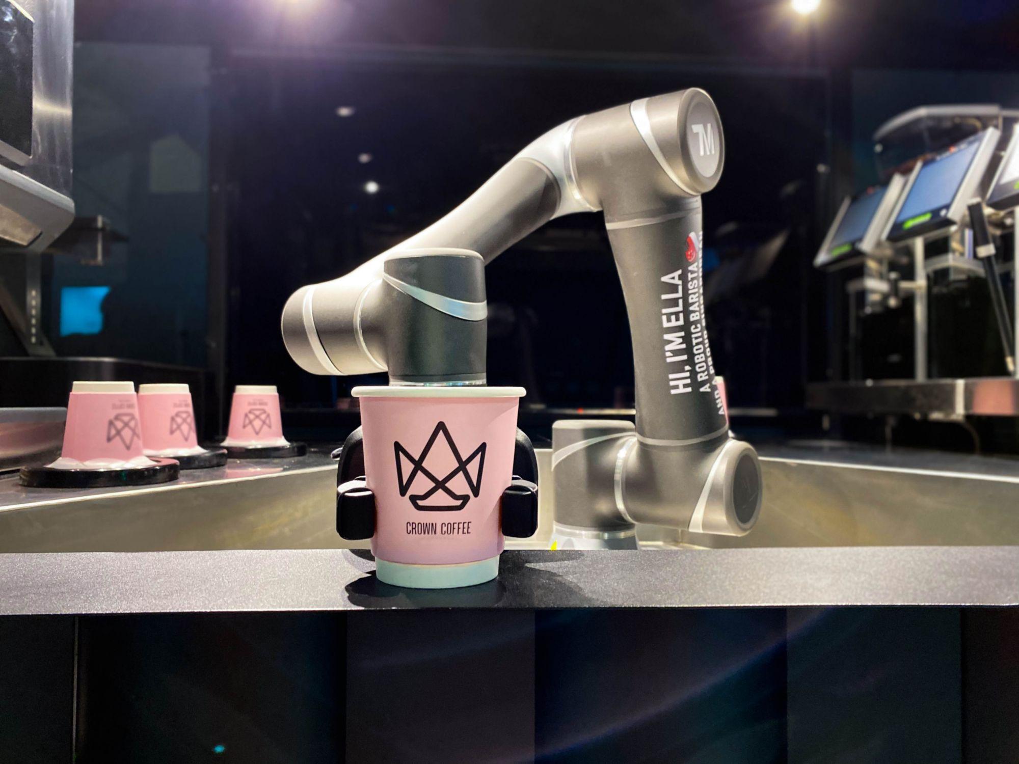 Aparat de cafea robotizat înlocuitor pentru barista