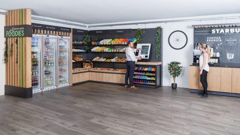 Selecta introduce conceptul inovativ MicroMarkets în Spania prin lansarea FOODIES în Banco Santander din Madrid